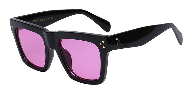 Olielle - Black with purple le - Men's & Women's Sunglasses - Wayfarers - Crissado