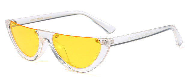 Labatouche - clear yellow / as shown in photo - Women's Sunglasses - Cat Eye Sunglasses - Crissado