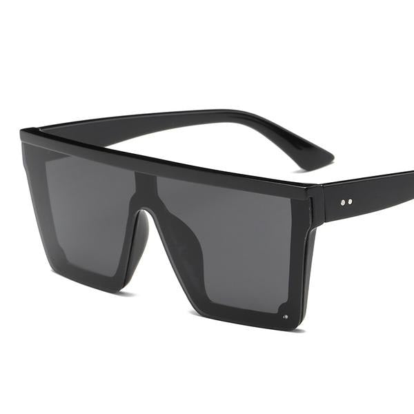 Oxton - Black Frame Grey - Men's Sunglasses -  - Crissado
