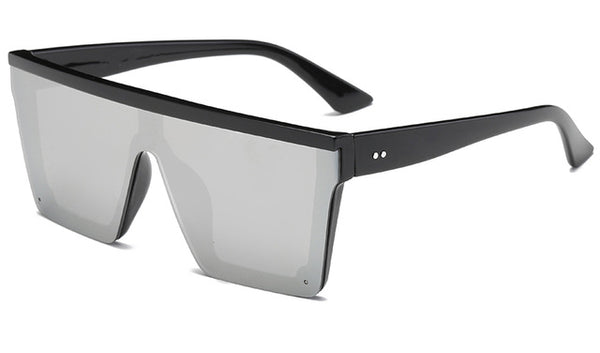 Oxton - Black Frame Silver - Men's Sunglasses -  - Crissado