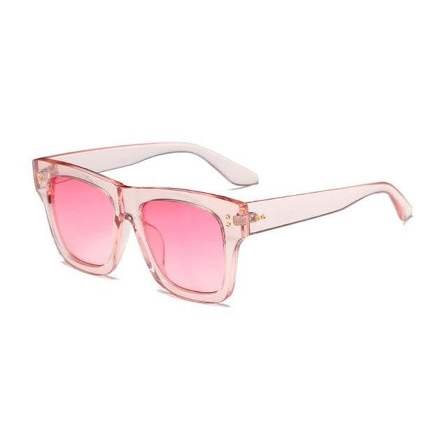 Foreal Sunglasses-Pink Gradient-Women's Sunglasses-Wayfarers-Lensuit