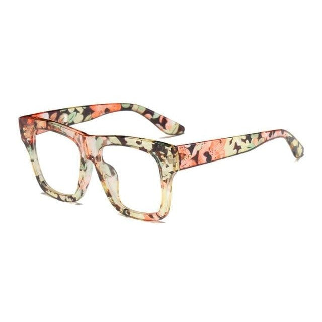 Foreal Sunglasses-Flower Clear-Women's Sunglasses-Wayfarers-Lensuit