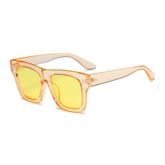 Foreal Sunglasses-Yellow Tinted-Women's Sunglasses-Wayfarers-Lensuit