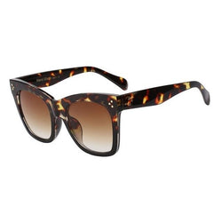 Fiesta - Leopard w brown - Men's & Women's Sunglasses - Wayfarers - Crissado