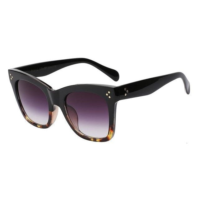 Fiesta - Blackleoaprd w smoke - Men's & Women's Sunglasses - Wayfarers - Crissado