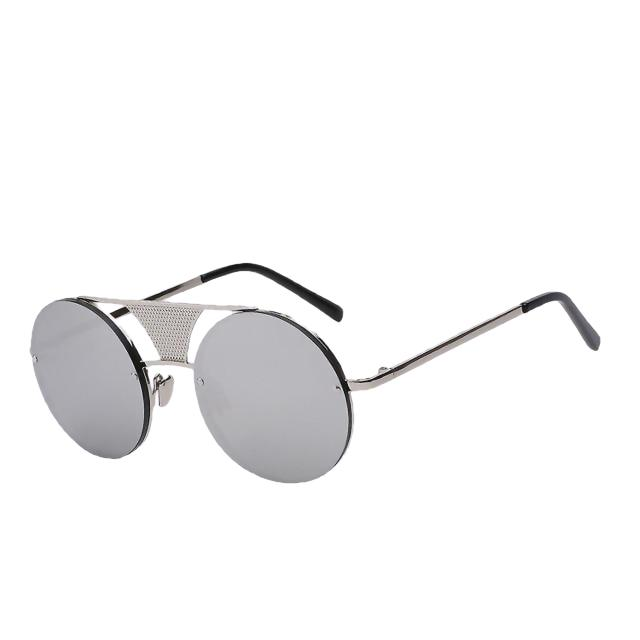Glory - Silver w silver mirr - Men's Sunglasses - Steampunk Sunglasses - Crissado