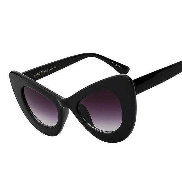 Nekmunnit Sunglasses--Women's Sunglasses-Cat Eye Sunglasses-Lensuit