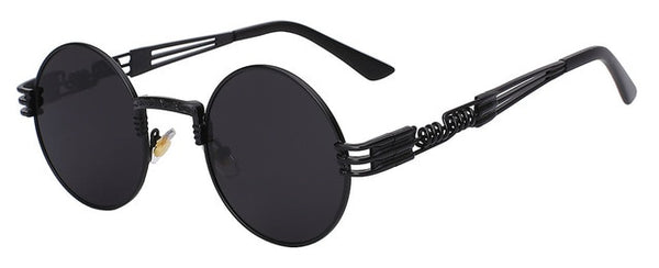 Skyfire - Black w black - Men's & Women's Sunglasses - Steampunk Sunglasses - Crissado