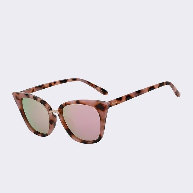 Vasagle - C3 Pink mirror lens - Women's Sunglasses - Cat Eye Sunglasses - Crissado