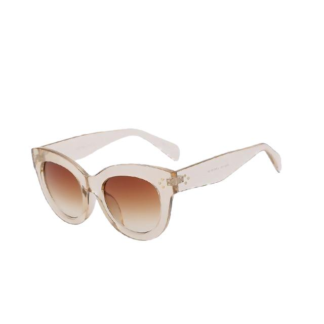 BoBoPo-C5 Champigne-Women's Sunglasses-Cat Eye Sunglasses-Lensuit