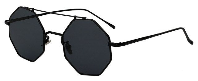 Yodacloud - Black w black - Men's & Women's Sunglasses - Round Sunglasses - Crissado