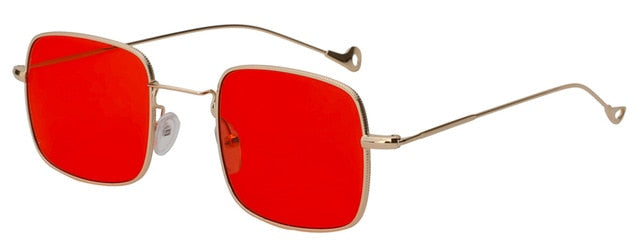 Kizerain - Gold w sea red - Women's Sunglasses - Vintage Sunglasses - Crissado