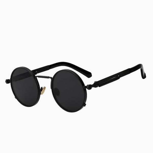 Doggax - Matte black - Men's Sunglasses - Steampunk Sunglasses - Crissado