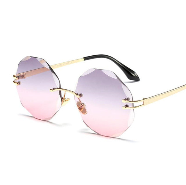 Rowe - c5 purple pink / Multi - Men's & Women's Sunglasses - Round Sunglasses - Crissado