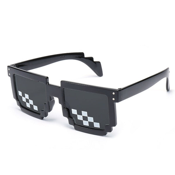 BLACKWING PIXELS - Black - Men's Sunglasses - Vintage Sunglasses - Crissado