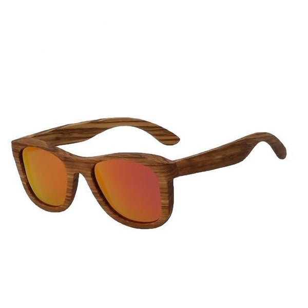 Bistup - Red mirror - Men's Sunglasses - Wayfarers - Crissado