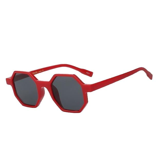 Modax Sunglasses-Red w black-Women's Sunglasses-Vintage Sunglasses-Lensuit