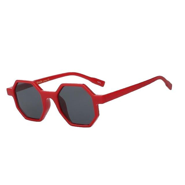 Modax - Red w black - Women's Sunglasses - Vintage Sunglasses - Crissado