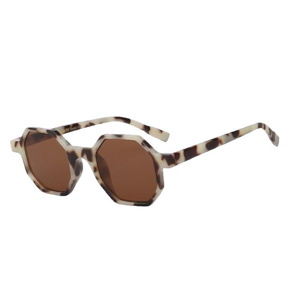 Modax - Leopard w brown - Women's Sunglasses - Vintage Sunglasses - Crissado