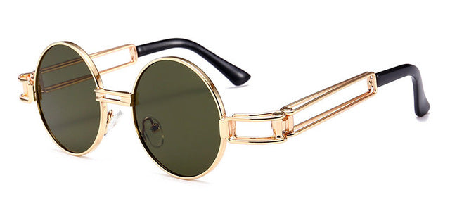Reiltas - C8 Green - Women's Sunglasses - Steampunk Sunglasses - Crissado