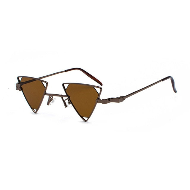 CHEEDO - C4-Brown-Brown - Women's Sunglasses - Vintage Sunglasses - Crissado