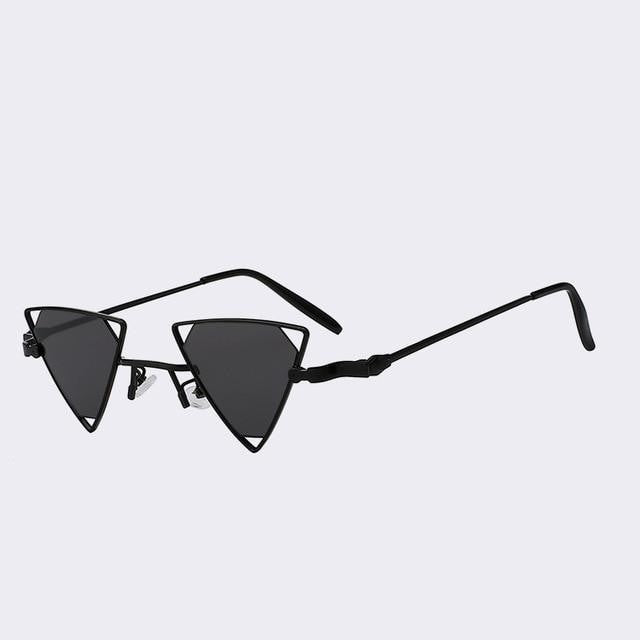 Terrassa - Black w black - Women's Sunglasses - Steampunk Sunglasses - Crissado