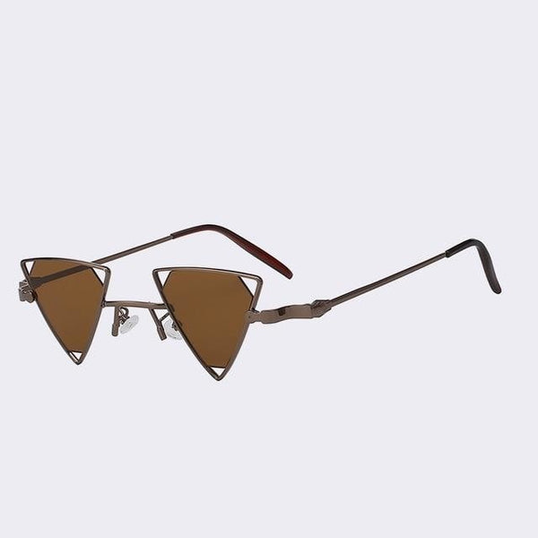 Terrassa - Coffee w brown - Women's Sunglasses - Steampunk Sunglasses - Crissado