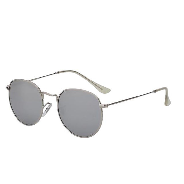 Gogopo - Silver w silver mir - Men's Sunglasses - Celebrity Sunglasses - Crissado
