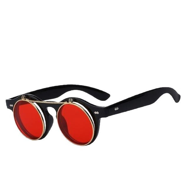 IMPERATOR - Black w sea red - Men's & Women's Sunglasses - Flip Up Sunglasses - Crissado