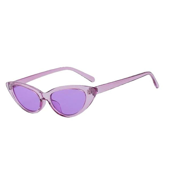 Lingox - Violet w purple - Women's Sunglasses - Cat Eye Sunglasses - Crissado