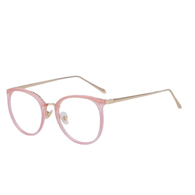Viottis - Pink w clear - Women's Sunglasses - Cat Eye Sunglasses - Crissado