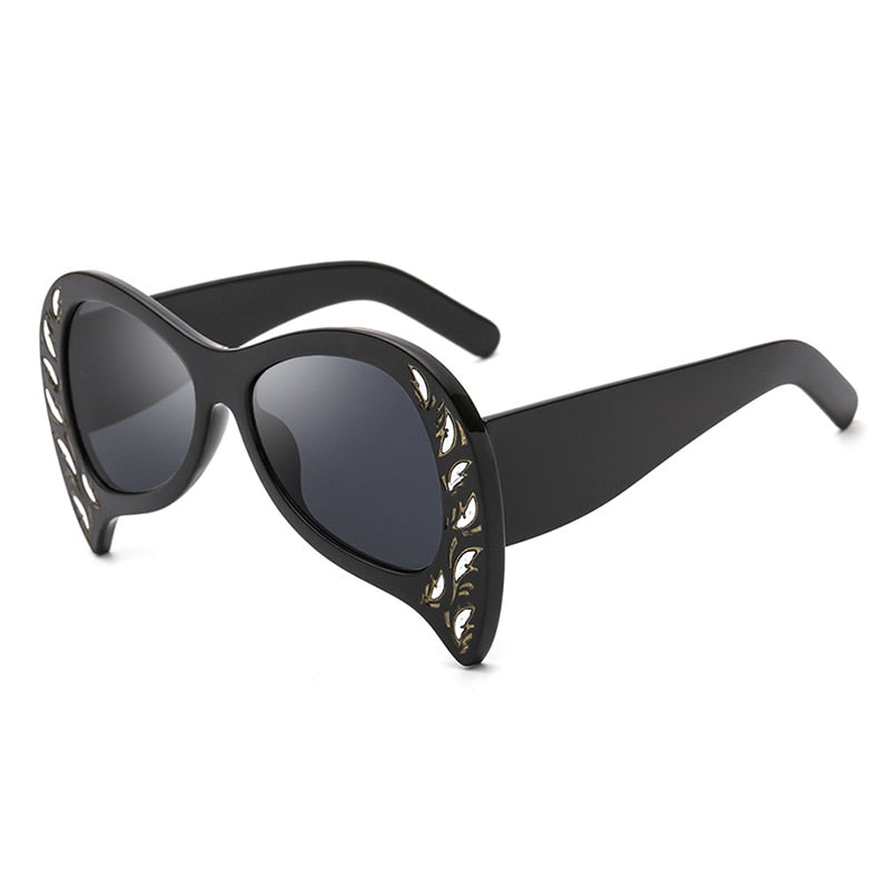 Foxclore Sunglasses--Women's Sunglasses-Cat Eye Sunglasses-Lensuit