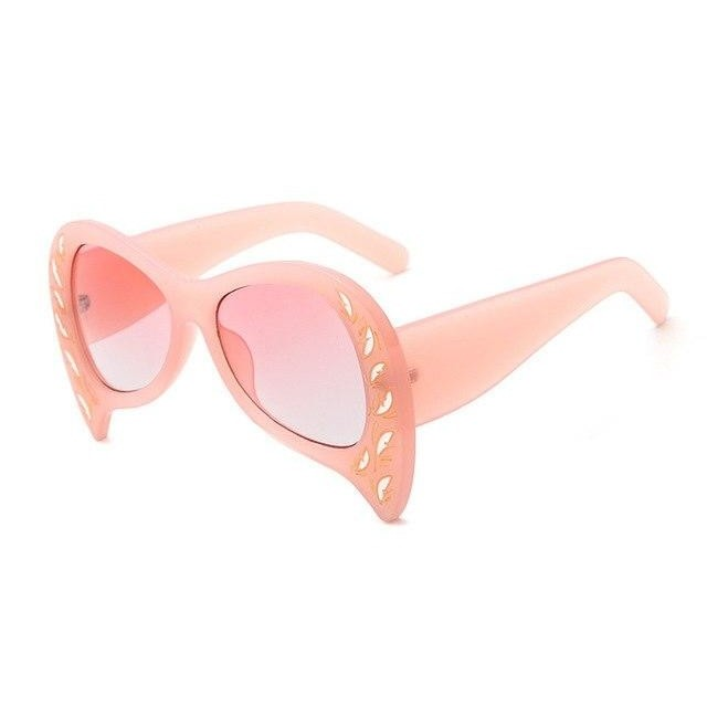 Foxclore Sunglasses-C5 Pink Pink-Women's Sunglasses-Cat Eye Sunglasses-Lensuit