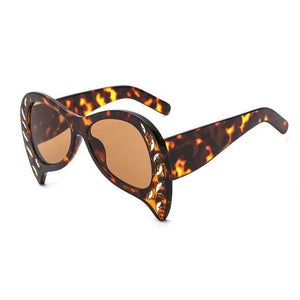 Foxclore Sunglasses-C6 Leopard Brown-Women's Sunglasses-Cat Eye Sunglasses-Lensuit