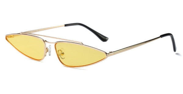 Joon - clear yellow / as shown in photo - Women's Sunglasses - Cat Eye Sunglasses - Crissado