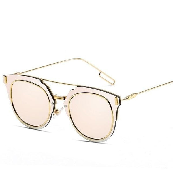 JAZZ - C7 Gold Pink - Men's & Women's Sunglasses - Cat Eye Sunglasses - Crissado