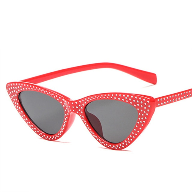 Kiddo - Red / as picture - Women's Sunglasses - Cat Eye Sunglasses - Crissado