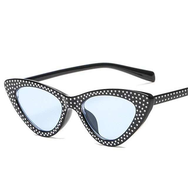 Kiddo - BkBl / as picture - Women's Sunglasses - Cat Eye Sunglasses - Crissado