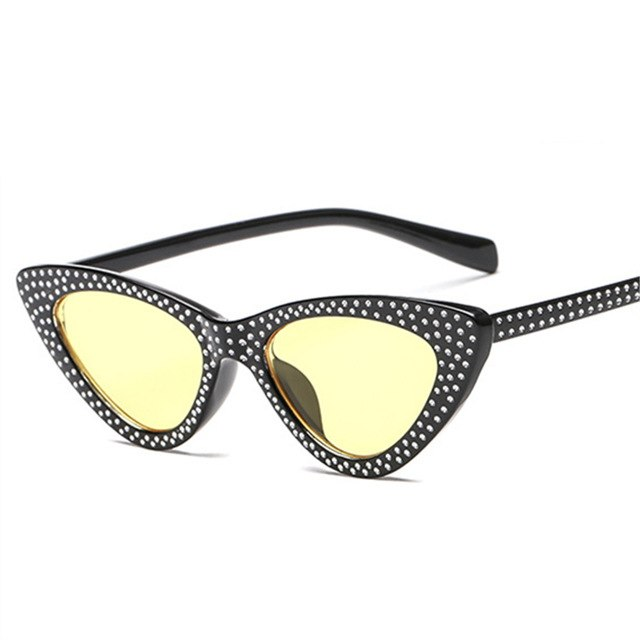 Kiddo - Yellow / as picture - Women's Sunglasses - Cat Eye Sunglasses - Crissado