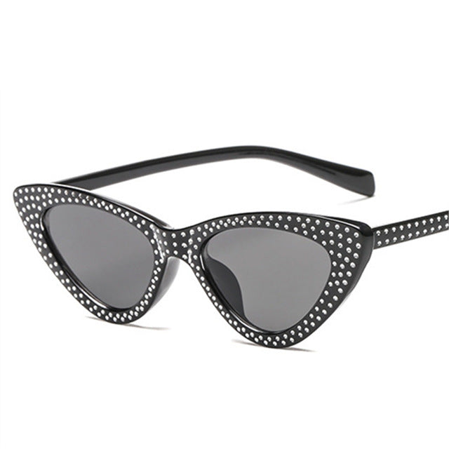 Kiddo - Black / as picture - Women's Sunglasses - Cat Eye Sunglasses - Crissado