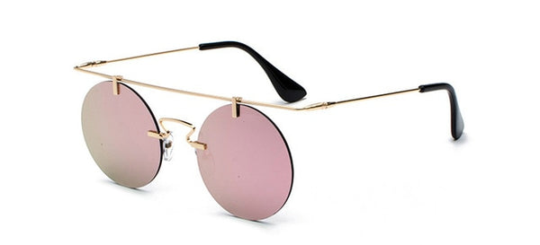 Johackle - C5 Gold Pink - Women's Sunglasses - Round Sunglasses - Crissado