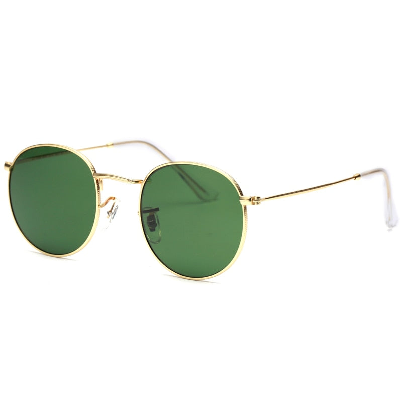 HUDSON HAWK Sunglasses--Men's Sunglasses-Round Sunglasses-Lensuit