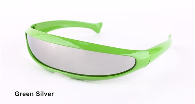 HUFFER Sunglasses-Green Silver / as picture-Men's Sunglasses--Lensuit