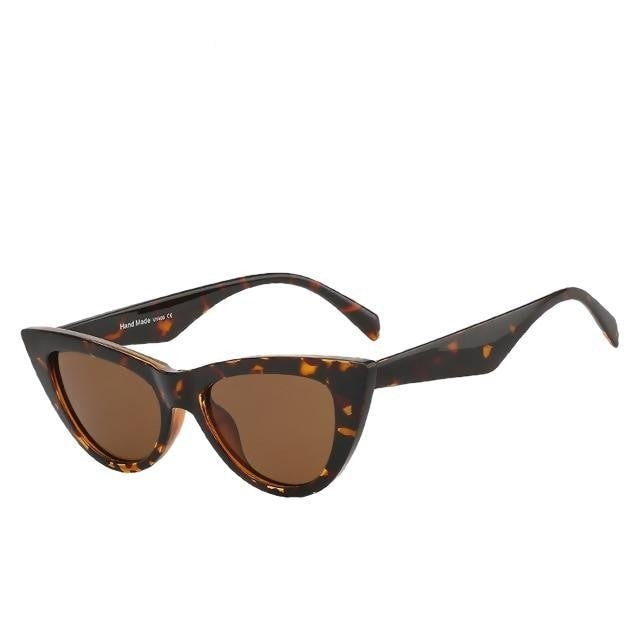 Sinpad - Leopard w brown - Women's Sunglasses - Cat Eye Sunglasses - Crissado