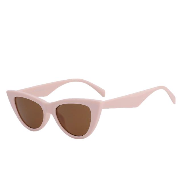 Sinpad - Pink w brown - Women's Sunglasses - Cat Eye Sunglasses - Crissado