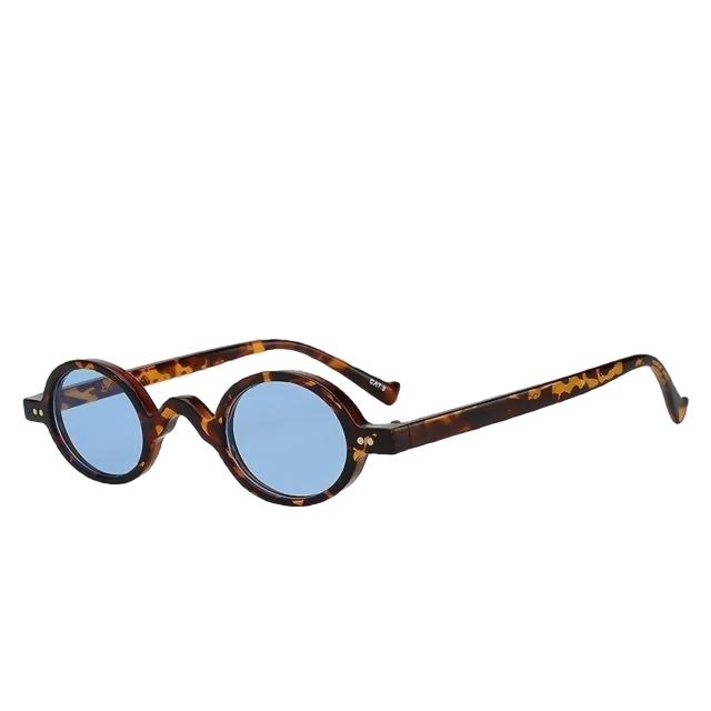 Looplab - Leopard w sea blue - Women's Sunglasses -  - Crissado