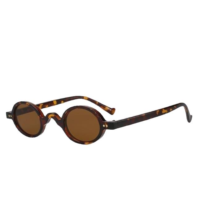 Looplab - Leopard w brown - Women's Sunglasses -  - Crissado
