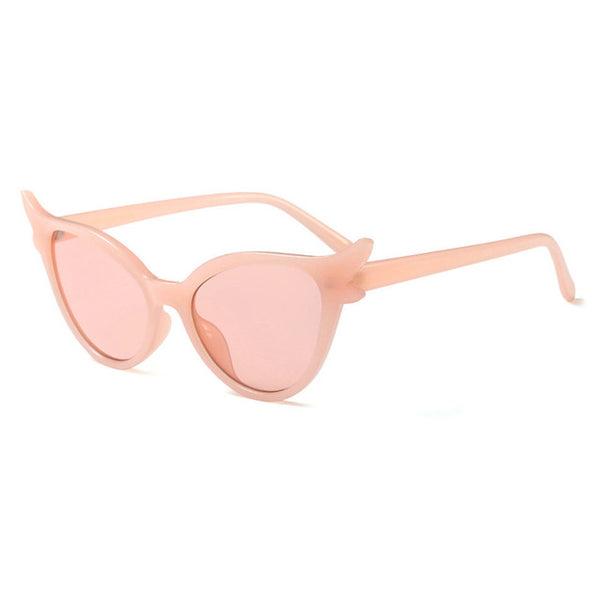 Dallas - pink - Women's Sunglasses - Cat Eye Sunglasses - Crissado