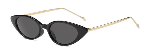 Shiori - C1 bright black - Women's Sunglasses - Cat Eye Sunglasses - Crissado