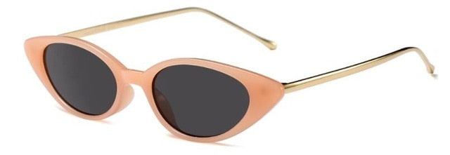 Shiori - C3 orange pink frame - Women's Sunglasses - Cat Eye Sunglasses - Crissado